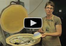 Glazing pottery video