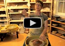 Choosing clay for pottery video